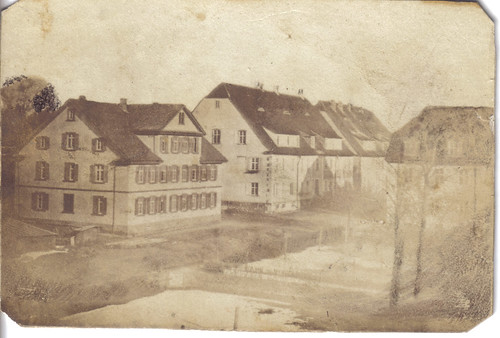 German houses - unknown location