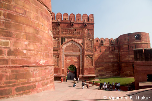 introduction to red fort Delhi's famous red fort is known by that name because of the red stone with which it is built and it is one of the most magnificent palaces in the world.