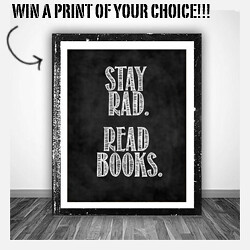WIN A PRINT OF YOUR CHOICE!
