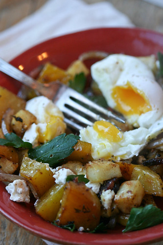 Golden Winter Breakfast Hash 1