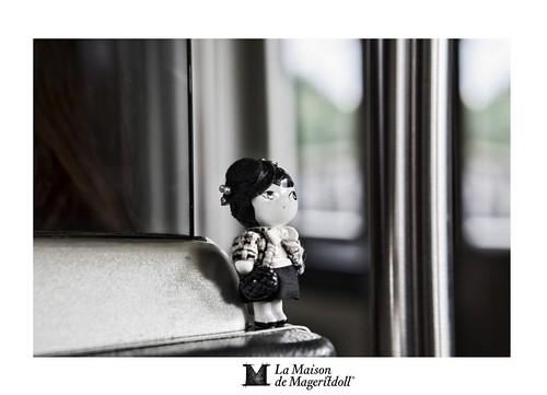 Mageritdoll: Inspired by CHANEL (Resin Art Doll Jewelry - Joyas de Muñeca. Muñeca artística resina) by La Maison de Mageritdoll