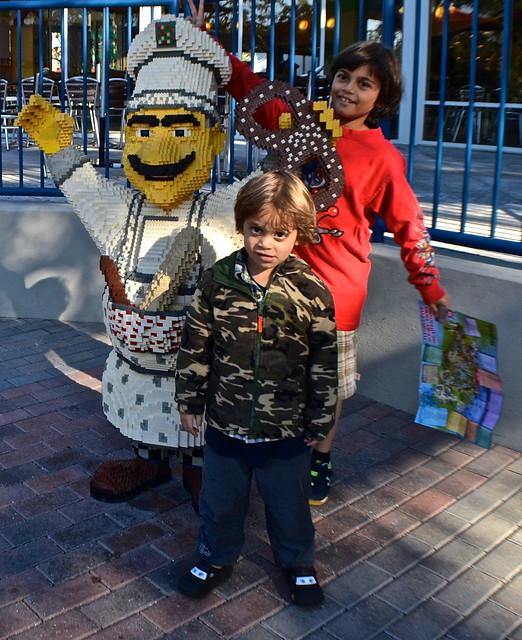 Legoland, Florida - Lego chef