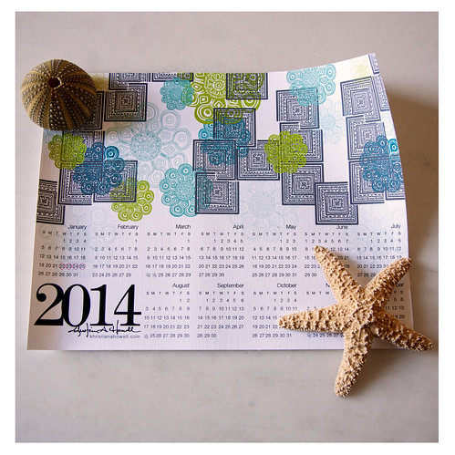 2014 Calendar Designed By Khristian A. Howell