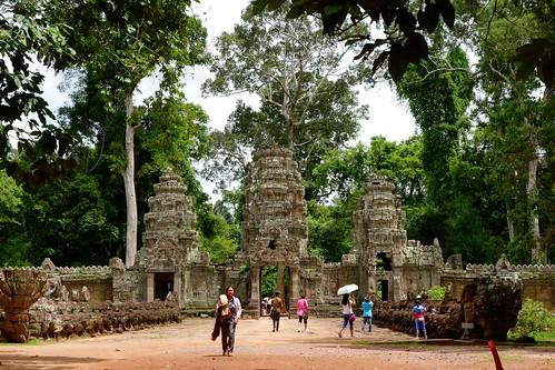 Preah Khan entrance at Angkor