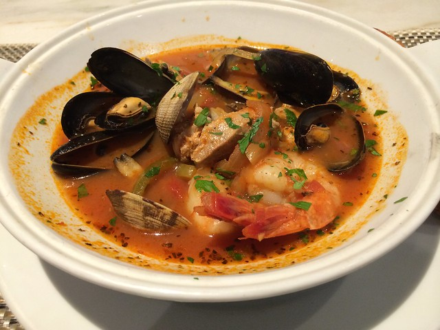 San Francisco-style cioppino - The Rotunda