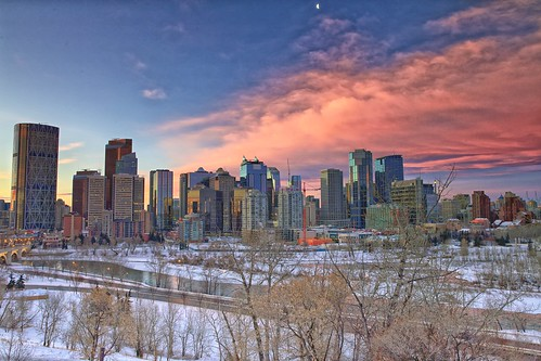 calgary sunrise downtown day cloudy christmasday pwwinter kgogrady