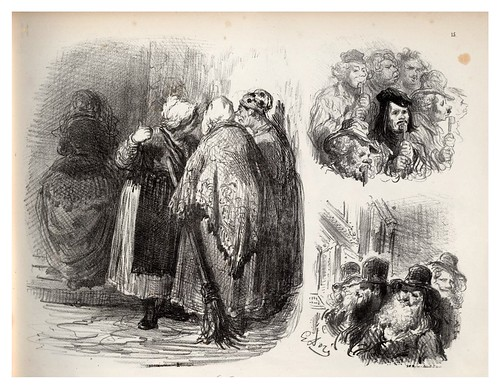 015-Serpientes-La Ménagerie parisienne, par Gustave Doré -1854- Fuente gallica.bnf.fr-BNF