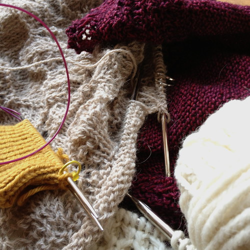 Knitting Projects to Finish-along