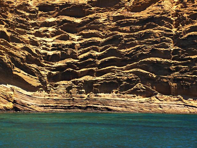 Volcanic formations, La Graciosa, Lanzarote
