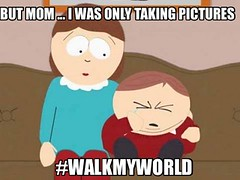 Walk My World meme 2