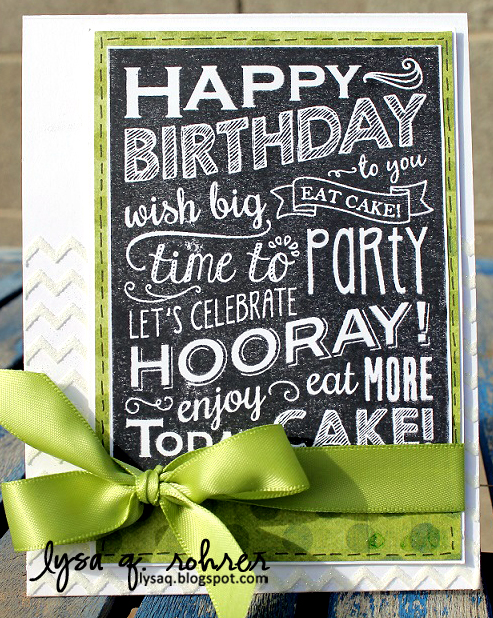 Birthday Blackboard