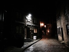 Night view of Haworth