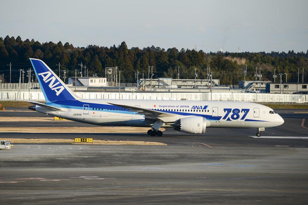 ANA 787-8 JA815A
