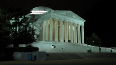 Monuments at night, March 28, 2013