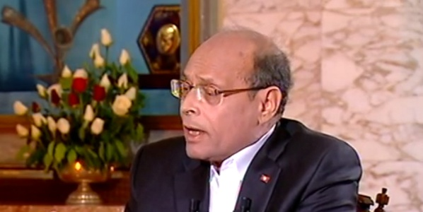 Marzouki: Tunisia Was 'Not Ready Mentally or Militarily' for Security Threats