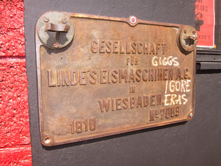 Society for Linde's Ice Machines in Wiesbaden - 1910