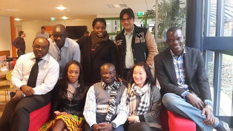 Sports Journalist Juliet Bawuah in Holland