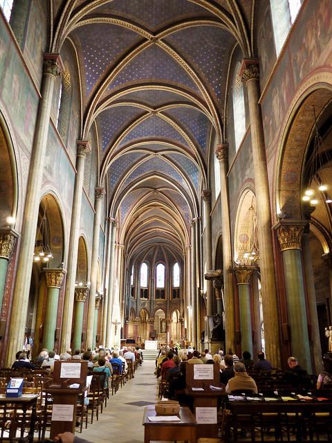 Inside Église de Saint-Germain-des-Prés