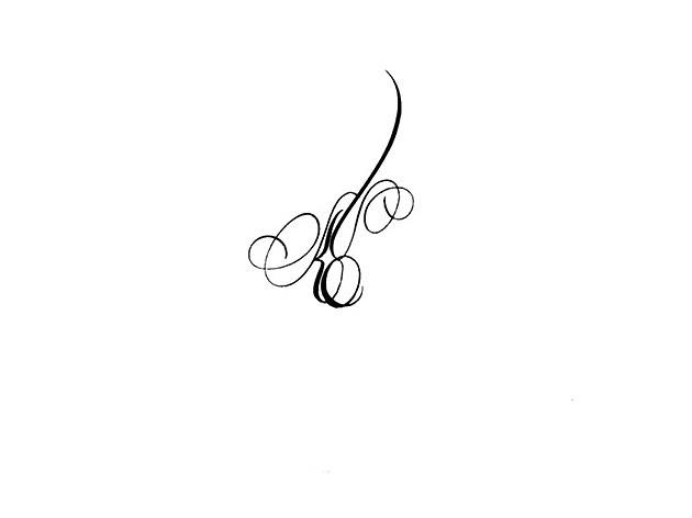 calligraphie tatouage lettres entrelacees calligraphie tatouage initiale prenom 15 flickr. Black Bedroom Furniture Sets. Home Design Ideas