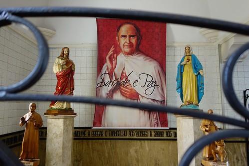 Old grave of Padre Eustaquio in Belo Horizonte