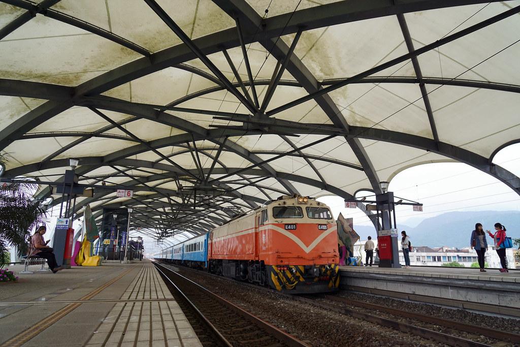 宜蘭。冬山火車站