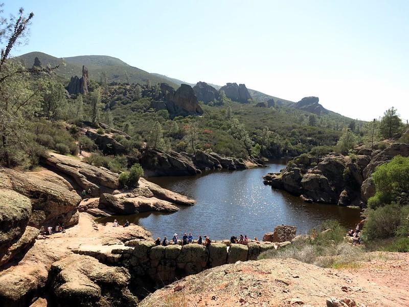 Pinnacle National Monument lake