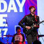 Fri, 17/03/2017 - 12:29pm - Hippo Campus Live at SXSW Radio Day Stage Powered by VuHaus 3.17.17 photographer: Sarah Burns