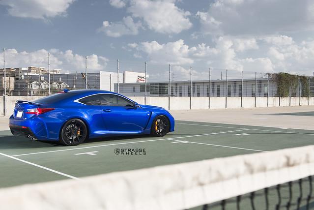 Strasse Wheels Lexus RC-F