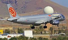 LPA/GCLP: FLYNIKI.COM Airbus A320-214 OE-LEH