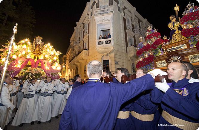 La Semana Santa de Cartagena en segundo lugar, detrás de Granada