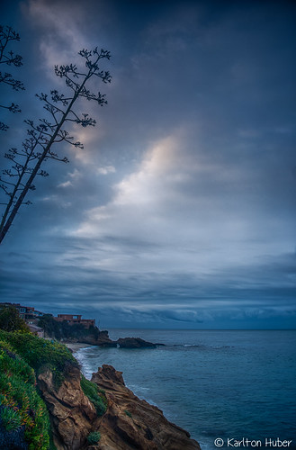 2017 beach bluffs brewingstorm californiacoastline cliffs clouds cove drama hdr homes karltonhuber laguna lagunabeach light morninglight oceanfront outdoors sky southcounty southerncalifornia storm theoc trees verticalimage view viewhomes weather