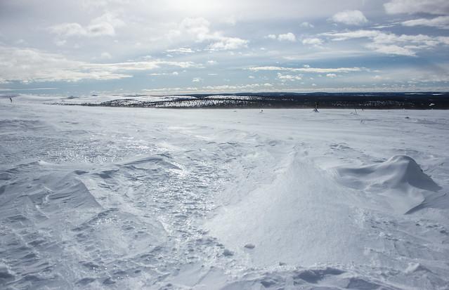 Above the arctic circle | Lapland