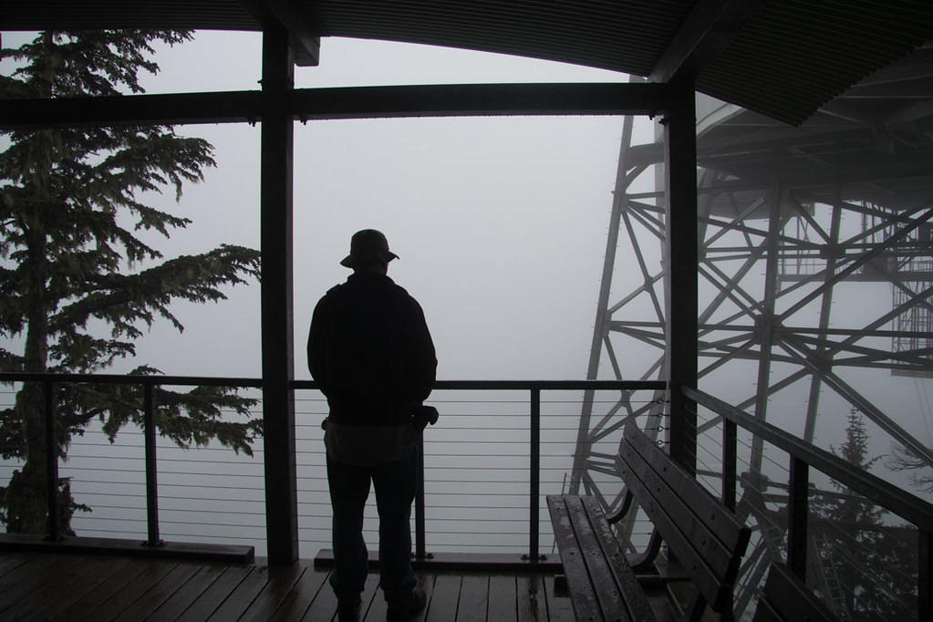 Overcast views of Juneau
