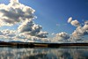 Oregon-puffy clouds-lake-SwittersB