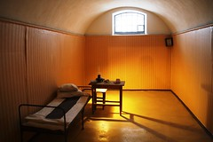 A surprisingly spacious cell for political prisoners