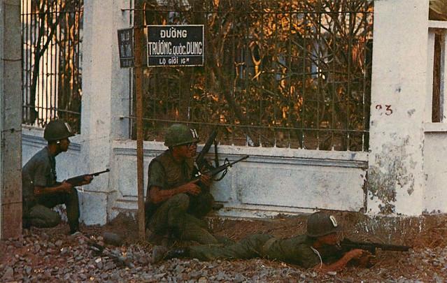 Street Fighting in Saigon 1968 - Giao tranh khu vực đường Trương Quốc Dung, Q. Phú Nhuận, Tết Mậu Thân 1968