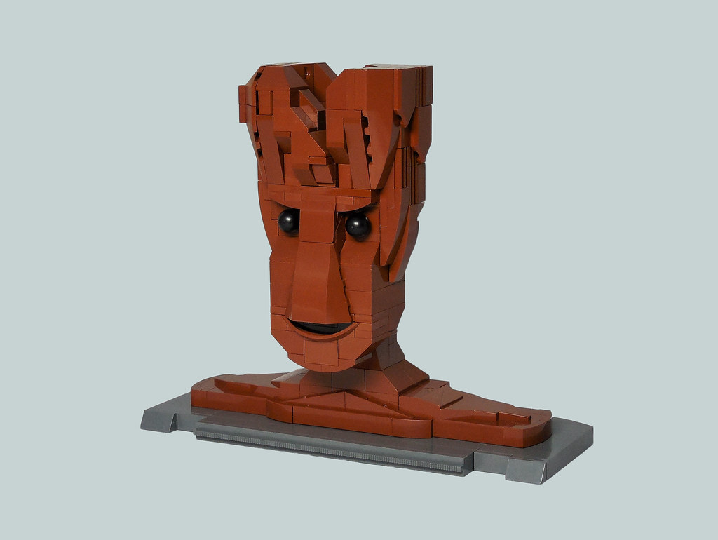 Groot (custom built Lego model)