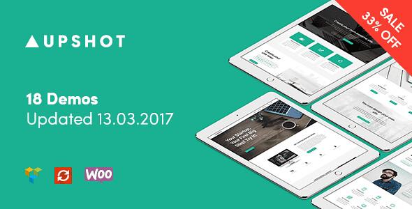 Upshot WordPress Theme free download