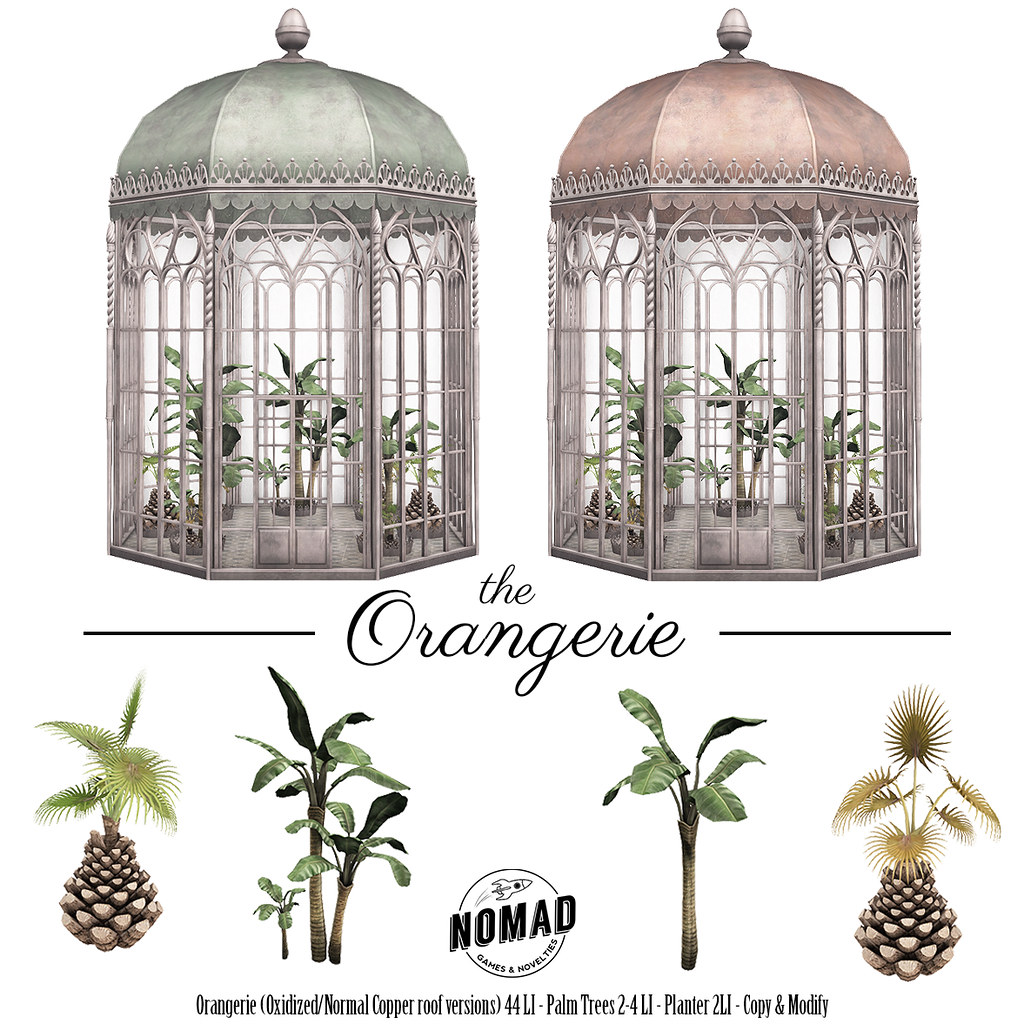NOMAD // The Orangerie - SecondLifeHub.com