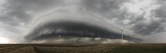 Lincoln Kansas Panoramic by Kelly DeLay