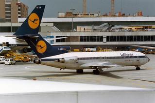 """Lufthansa Boeing 727-230/Adv D-ABKC  """"Braunschweig"""""""