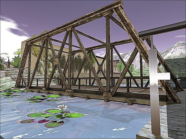 Kultivate Spring 17 Art Show - Crossing that Bridge