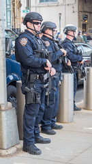 NYPD ESU Emergency Service Unit Police Officers, 2017 Yankees Home Opener at Yankee Stadium, The Bronx, New York City