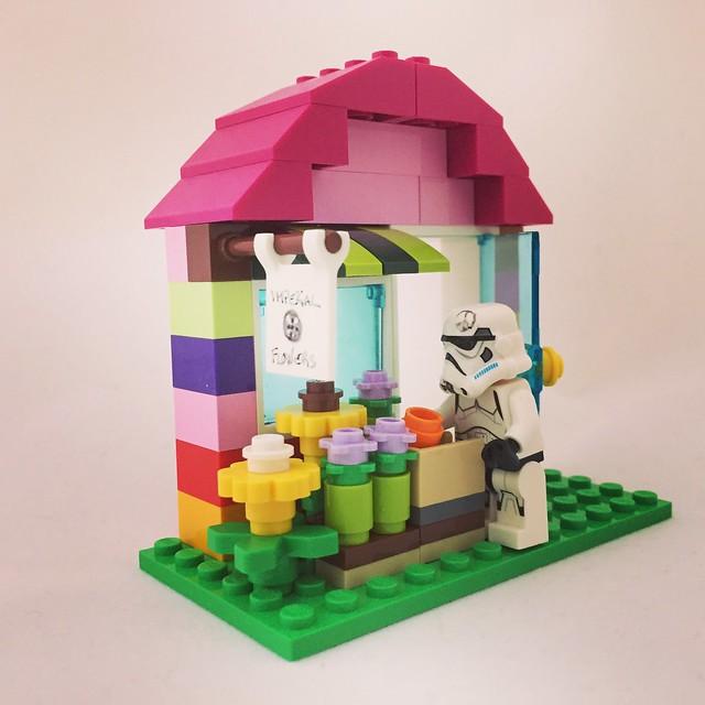 Pepe el stormtrooper quiere abrir una floristeria