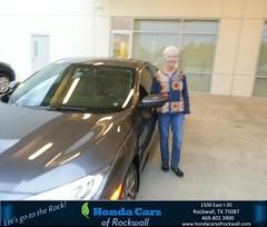 #HappyBirthday to Susan from Keith McFarlin at Honda Cars of Rockwall!