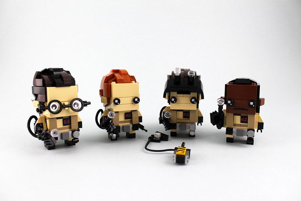 Ghostbusters (custom built Lego model)