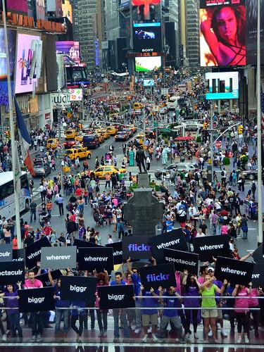 Flickr Flash Mob