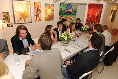 The Art Dinner May 22nd 2013 at Debut Contemporary