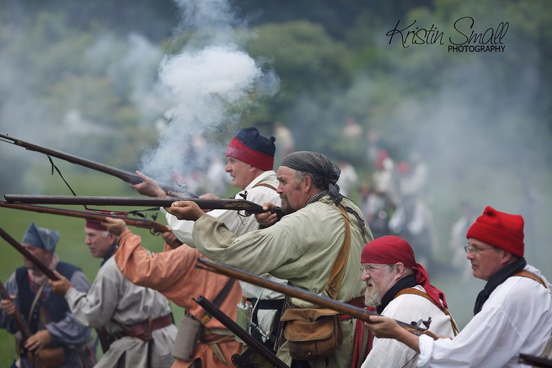 French and Indian Battle Re-enactment at Fort #4, Charlestown, NH 2013