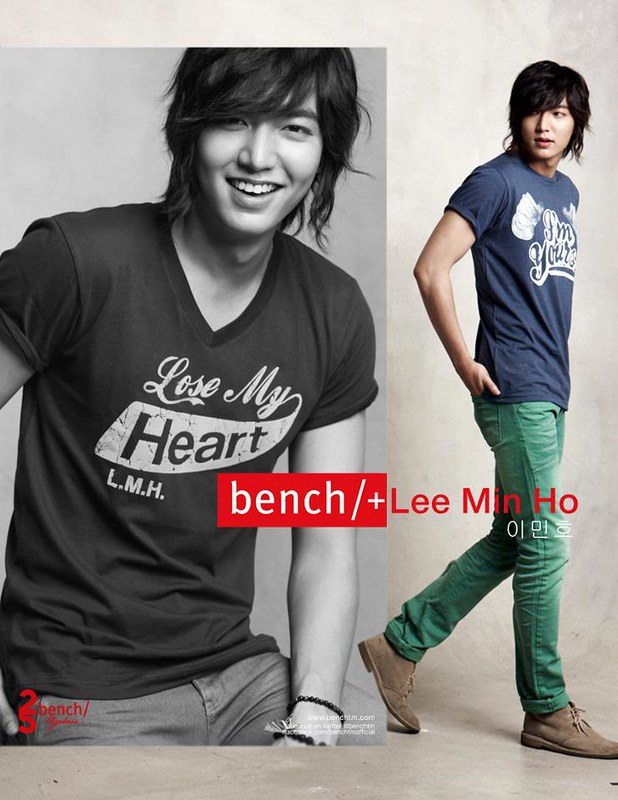 Lee Min Ho for Bench